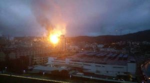 Taiwan - Explosion and Fire at CPC Oil Refinery