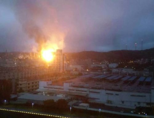 Taiwan – Explosion and Fire at CPC Oil Refinery